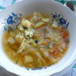 Supa de varza dietetica