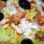 Salata de piept de pui si porumb