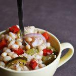 Salata de fasole boabe si muraturi