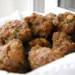 Chiftele la cuptor (cu carne de vita)