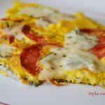 Omleta cu gorgonzola