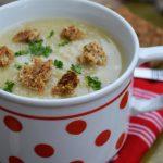 Supa cremoasa cu usturoi