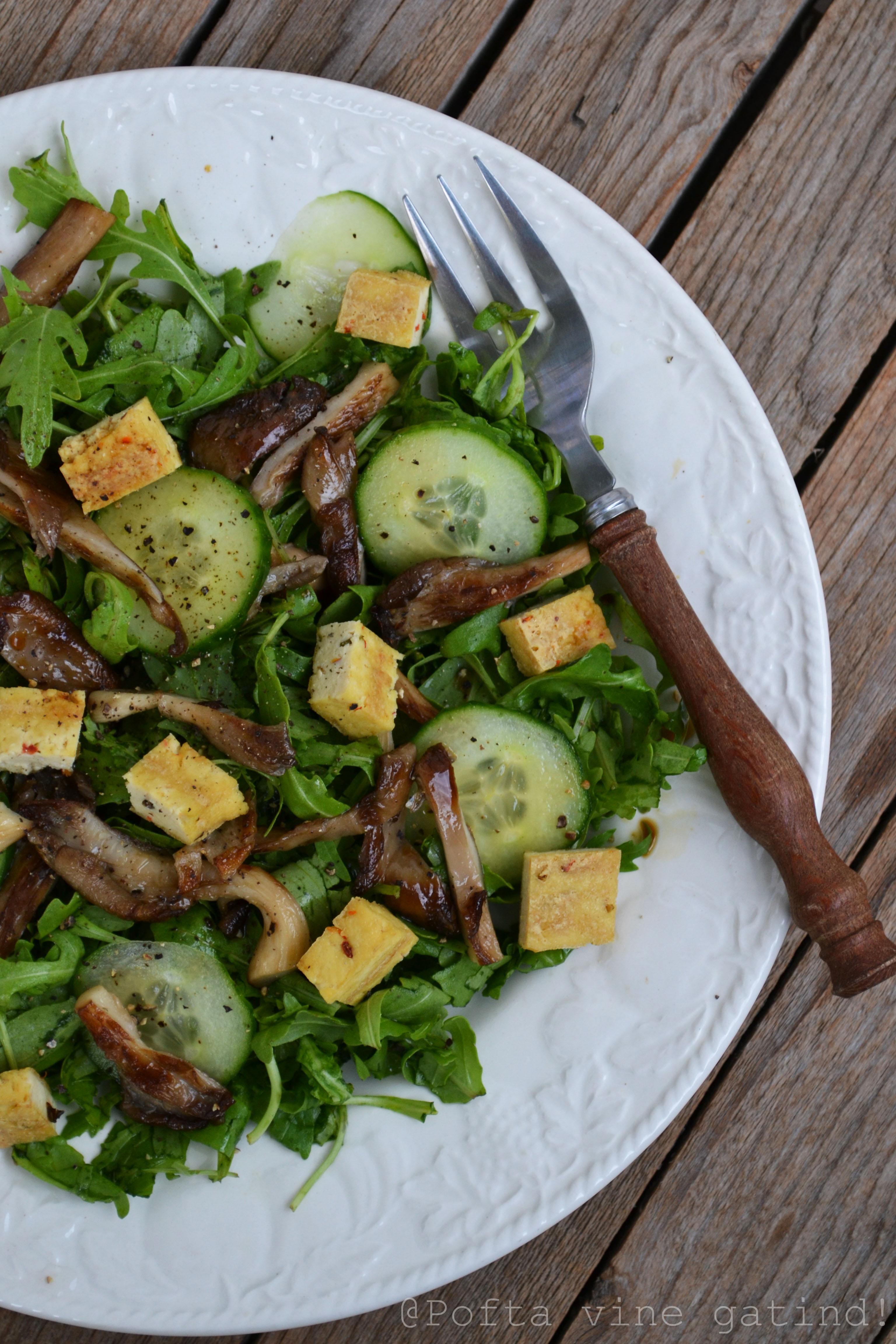 salata de tofu cu pleurotus (1)