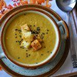 Supa crema de fasole galbena