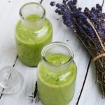 Un smoothie verde