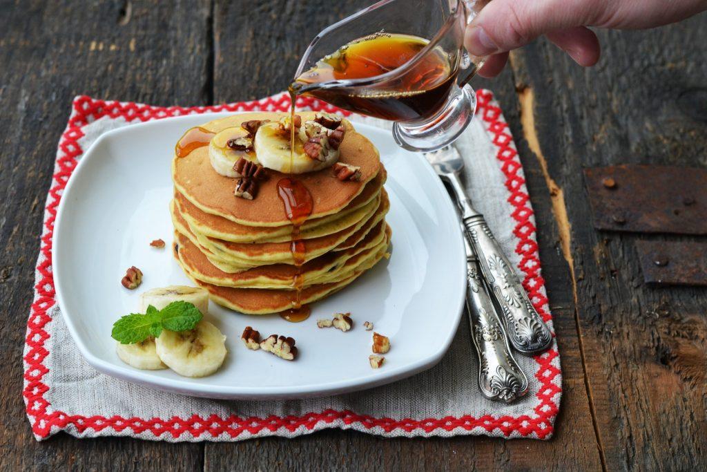 pancakes cu banane si ciocolata (4)