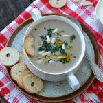 Supa cremoasa de ciuperci, la Thermocook