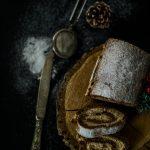 Rulada cu crema de nuca si unt