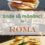 Unde sa mananci la Roma
